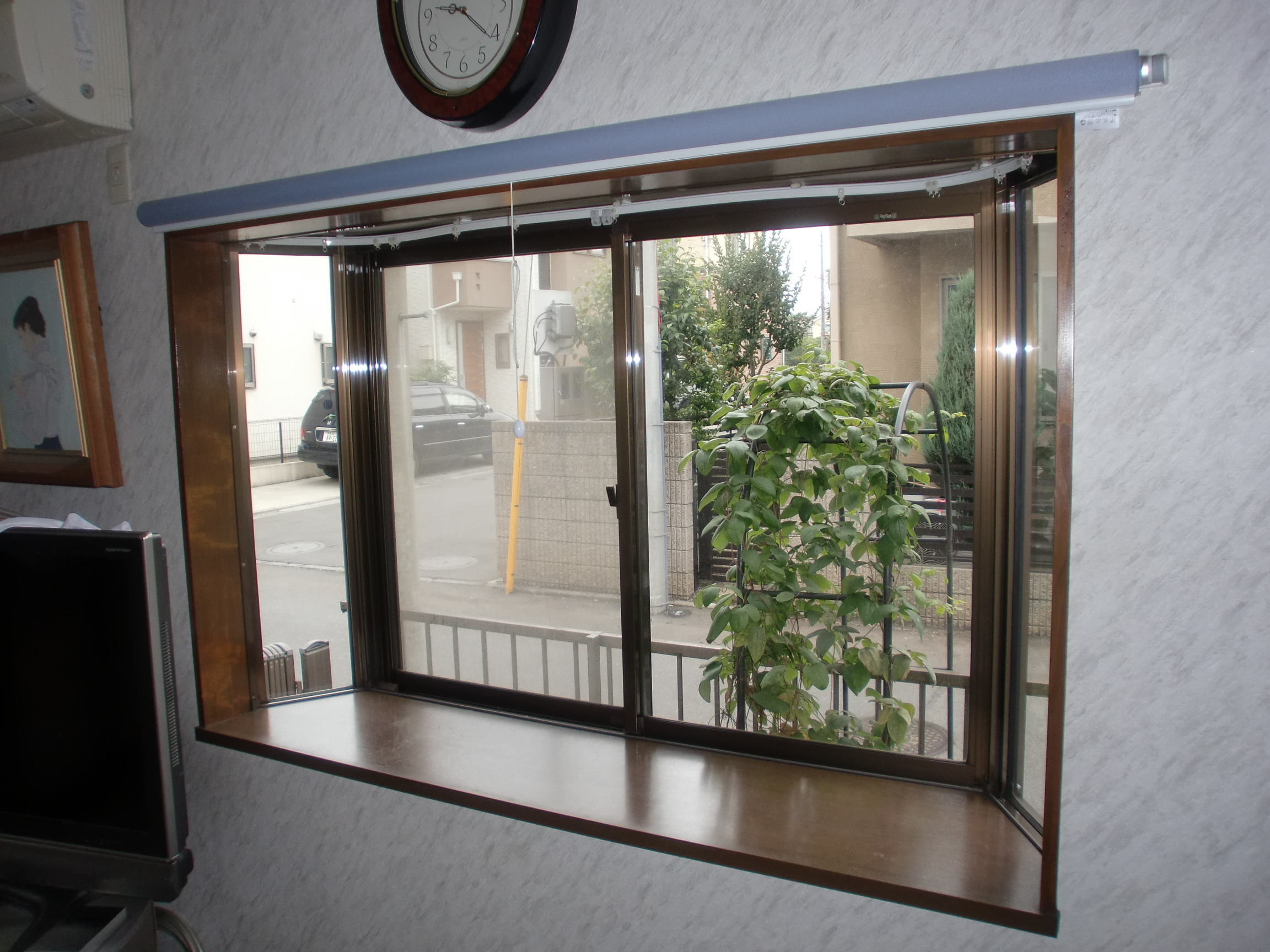 出窓|出窓を二重窓にしたリフォ...